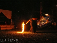 Ohnivý kevlarový bič 002