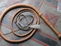 Kožený Bič 3 metry 004