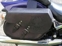 Brašny, kufry a pouzdra na motorku ruční výroby 18