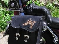 Brašny, kufry a pouzdra na motorku ruční výroby 22