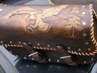 Brašny, kufry a pouzdra na motorku ruční výroby 25