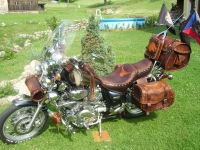 Kožený komplet na motorku