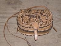 Kožená kabelka 005