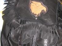 Kožený batoh 001