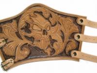 Kožený nátepník ruční výroba 002