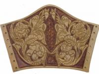 Kožený nátepník ruční výroba 003