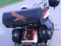 Kozeny kufr na motocykl 19