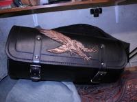 Kozeny kufr na motocykl 17