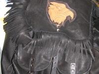 Motorkářská vesta ruční výroby 07