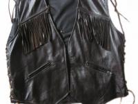Motorkářská vesta ruční výroby 08