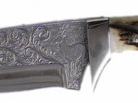 Nůž s rytinou 001