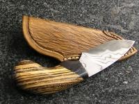 Ručně kovaný damaškový nůž 004