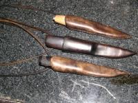 Skandinávská pochva na nůž 001