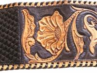 Ručně vyráběná kožená peněženka 03