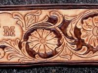 Ručně vyráběná kožená peněženka 3