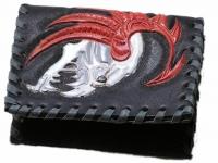 Ručně vyráběná kožená peněženka 05