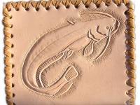 Ručně vyráběná kožená peněženka 11