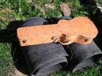 Kožený kufr na kytaru 005