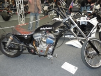 Kožené sedlo na motorku 23