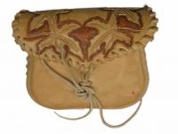 Kožená tašvice ruční výroby 04