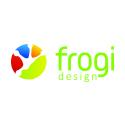 Logo marketingové a reklamní agentury Frogi design s.r.o.
